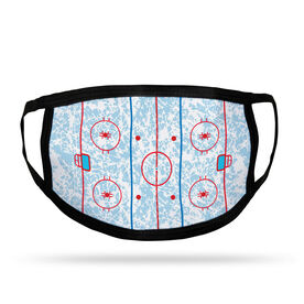 Hockey Adult Face Mask - Rink