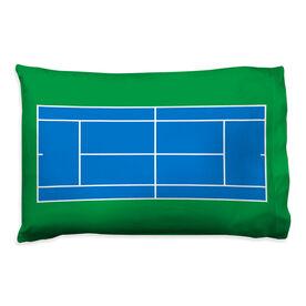 Tennis Pillowcase - Court