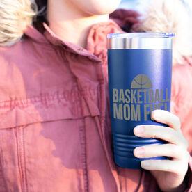 Basketball 20oz. Double Insulated Tumbler - Basketball Mom Fuel