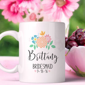 Wedding Party - Bridesmaid Personalized Coffee Mug