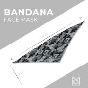 Bandana Face Mask - Camo