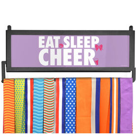 AthletesWALL Medal Display - Eat Sleep Cheer