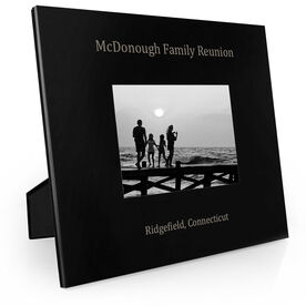 Personalized Engraved Picture Frame - Event