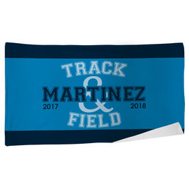 Track and Field Beach Towel Team