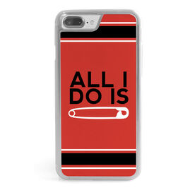 Wrestling iPhone® Case - All I Do Is Pin