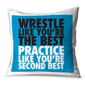 Wrestling Throw Pillow Wrestle Like You're The Best