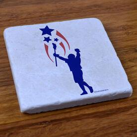 Lacrosse Spirit - Stone Coaster