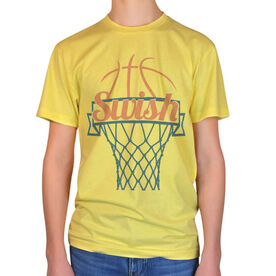Vintage Basketball T-Shirt - Swish