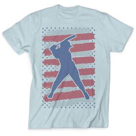 Vintage Softball T-Shirt - USA Batter