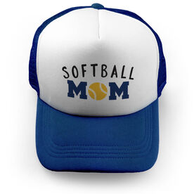 Softball Trucker Hat Mom