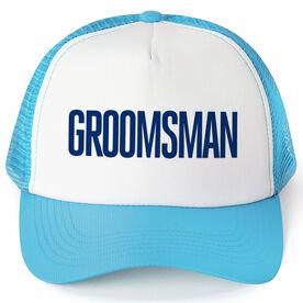 Personalized Trucker Hat - Groomsman