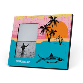 Fly Fishing Photo Frame - Fray Ghost of The Flats