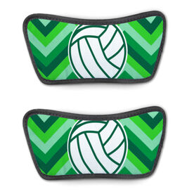 Volleyball Repwell™ Sandal Straps - Volleyball With Chevron