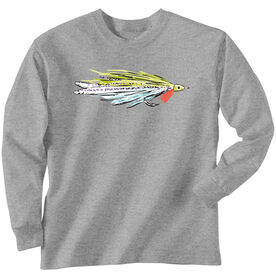 Fly Fishing T-Shirt Long Sleeve Deceiver Fly