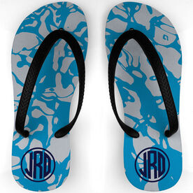 Swimming Flip Flops Reflections