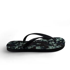 Football Flip Flops Can You Find Me