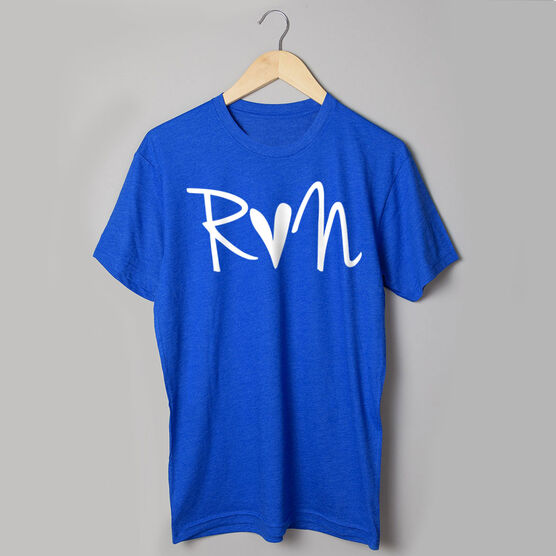 Running Short Sleeve T-Shirt - Run Heart