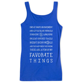 Women's Athletic Tank Top - Runner's Favorite Things