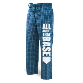 Softball Lounge Pants All About That Base