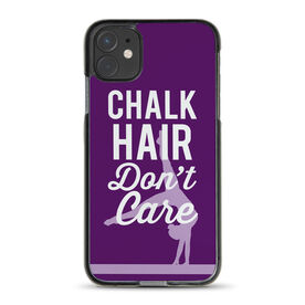 Gymnastics iPhone® Case - Chalk Hair Don't Care