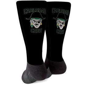 Crew Printed Mid-Calf Socks - Your Logo