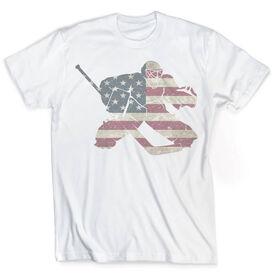 Vintage Hockey T-Shirt - America's Goalie