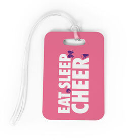 Cheerleading Bag/Luggage Tag - Eat Sleep Cheer