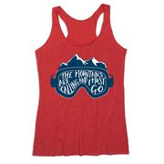 Skiing & Snowboarding Women's Everyday Tank Top - The Mountains Are Calling