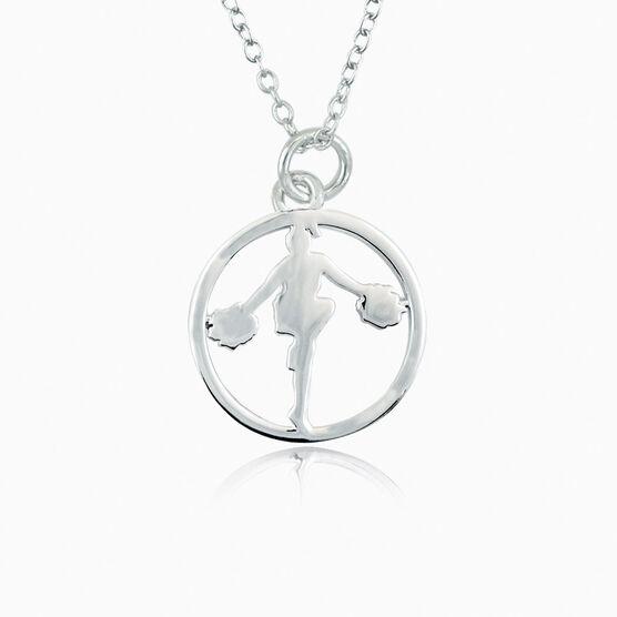 C-H-E-E-R Pendant Necklace