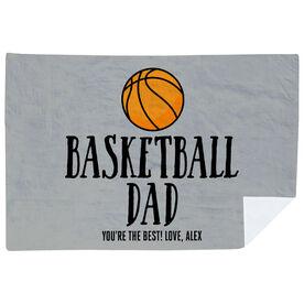 Basketball Premium Blanket - Basketball Dad