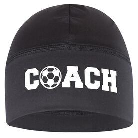 Beanie Performance Hat - Soccer Coach