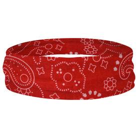 Multifunctional Headwear - Paisley Red RokBAND