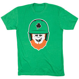 Baseball Short Sleeve T-Shirt - Lucky McCurveball