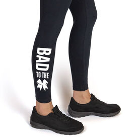 Cheerleading Leggings - Bad To The Bow