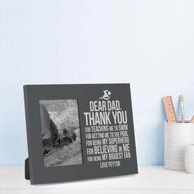Swimming Photo Frame - Dear Dad