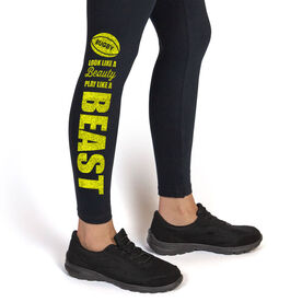 Rugby Leggings Look Like a Beauty Play Like a Beast