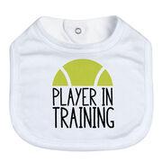 Tennis Baby Bib - Player In Training