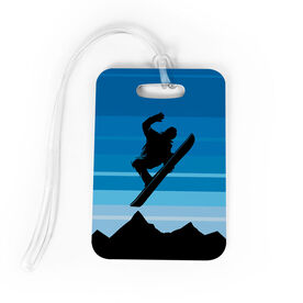 Snowboarding Bag/Luggage Tag - Airborne