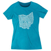 Women's Everyday Runners Tee Ohio State Runner