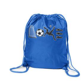Soccer Sport Pack Cinch Sack - Soccer Love