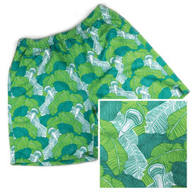 Latitude Laxwear Lacrosse Swim Trunks Tropical Lacrosse