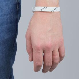 Sport Lace Bracelet White Adjustable Lace Bracelet