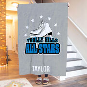 Figure Skating Premium Blanket - Custom Team Logo
