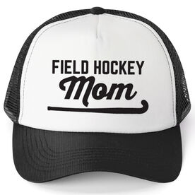 Field Hockey Trucker Hat - Mom