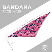 Bandana Face Mask - Camo