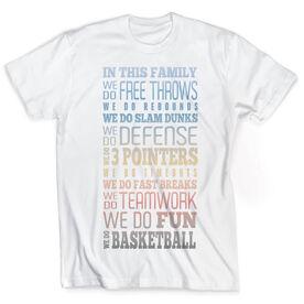 Vintage Basketball T-Shirt - We Do Basketball