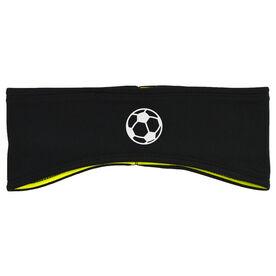 Soccer Reversible Performance Headband Soccer Ball
