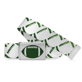 Football Lifestyle Belt Football Grass Patterns