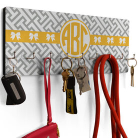 Cheer Hook Board Cheer Monogram with Pattern