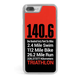 Triathlon iPhone® Case - 140.6 Math Miles